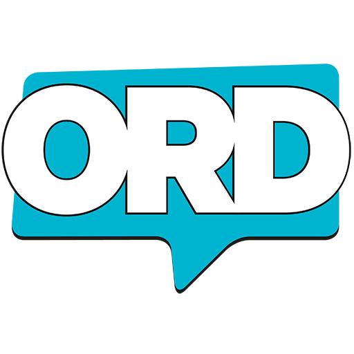 Logotyp för Ord - sommarlovstidningen hos Barnombudet i Uppsala län, BOiU