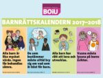 Barnrättskalender 2017-2018 framsida