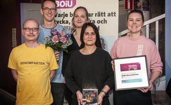Barnrättspriset 2017: Café Genomfarten