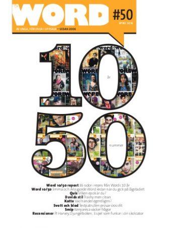 Word #50 – 10-årsjubileum!